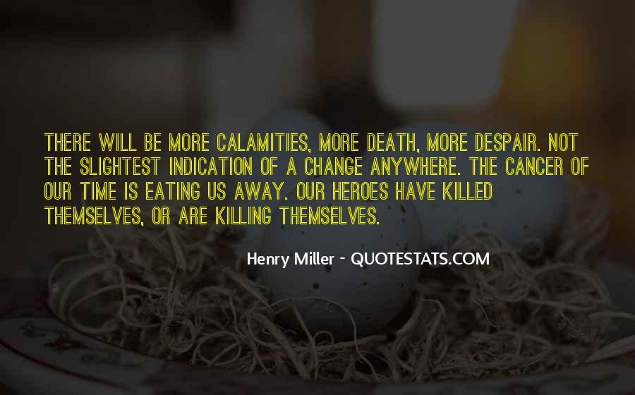 Quotes About Cancer Death #621033