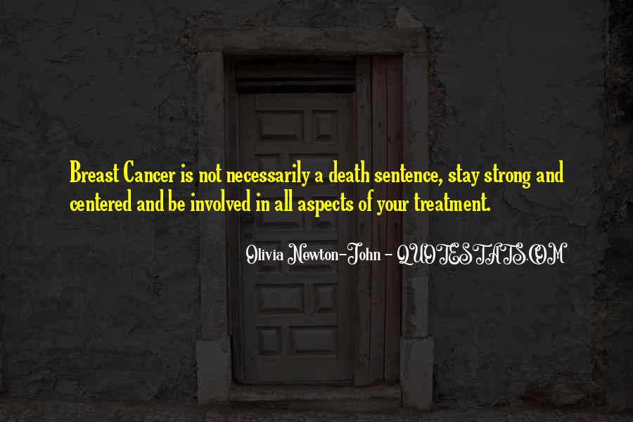 Quotes About Cancer Death #761795