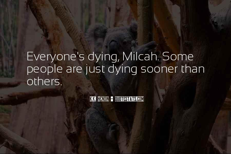 Quotes About Cancer Death #840616