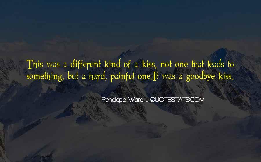 No Kiss Goodbye Quotes #278139
