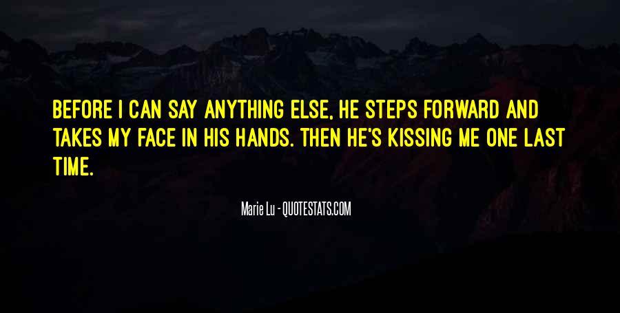 No Kiss Goodbye Quotes #399819