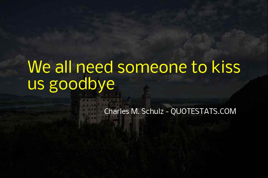 No Kiss Goodbye Quotes #692577