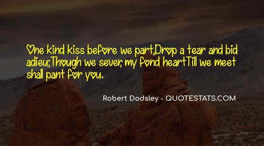 No Kiss Goodbye Quotes #697005
