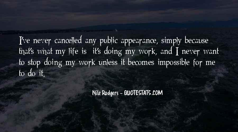 Quotes About Cancelled #1215817