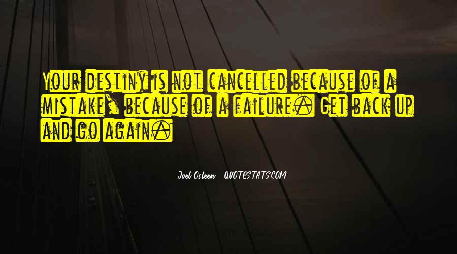 Quotes About Cancelled #1551046