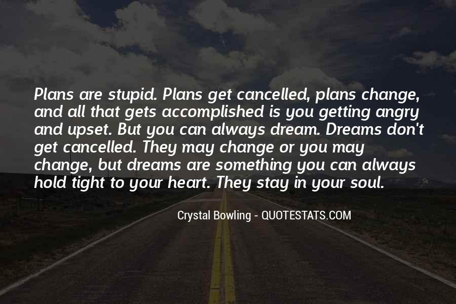 Quotes About Cancelled #674511