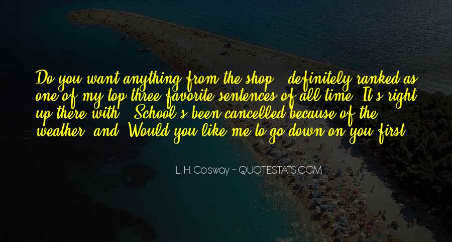 Quotes About Cancelled #977722