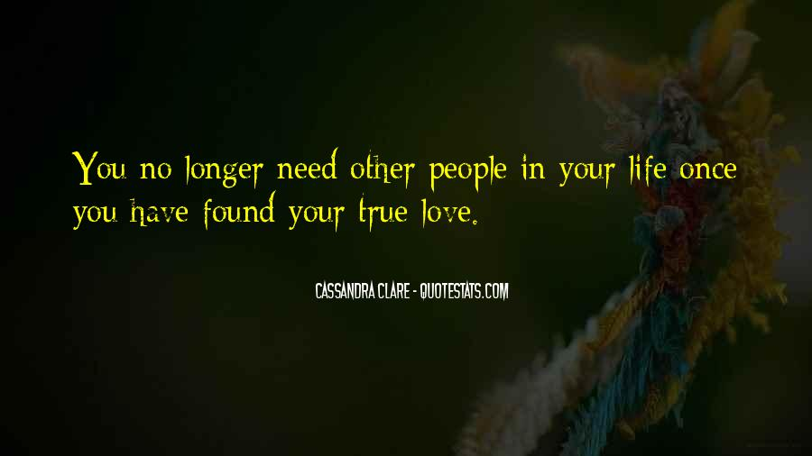 No Longer Love You Quotes #1219925