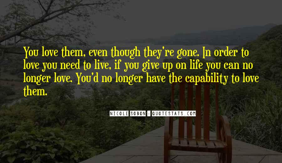 No Longer Love You Quotes #367595