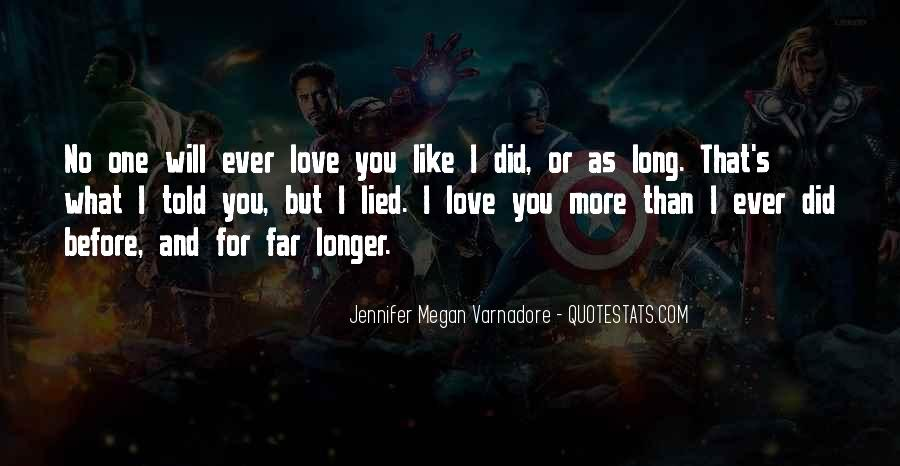 No Longer Love You Quotes #872516