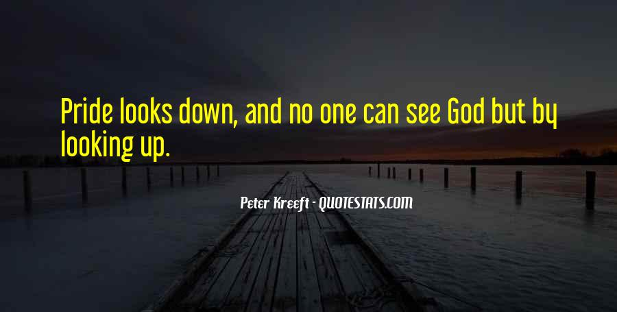 No Looking Down Quotes #543775