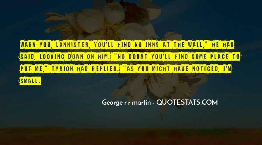 No Looking Down Quotes #61921
