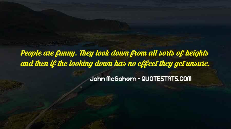No Looking Down Quotes #79371