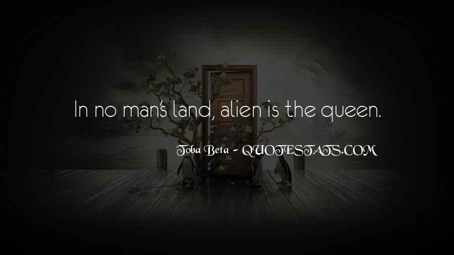 No Man's Land Quotes #1368675