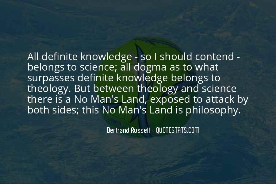No Man's Land Quotes #851533