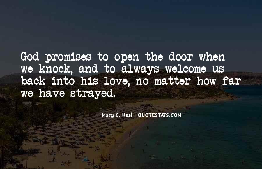 No Matter How Far Love Quotes #1251368