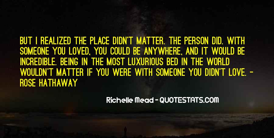 No Matter How Far Love Quotes #36857