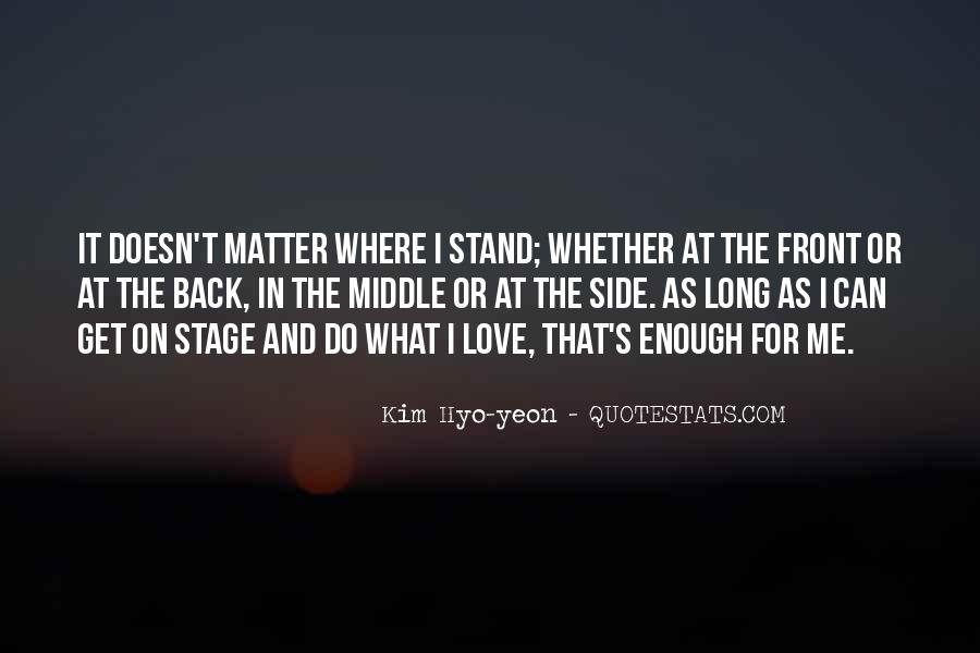 No Matter How Far Love Quotes #47008