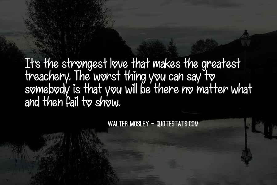 No Matter How Far Love Quotes #52430