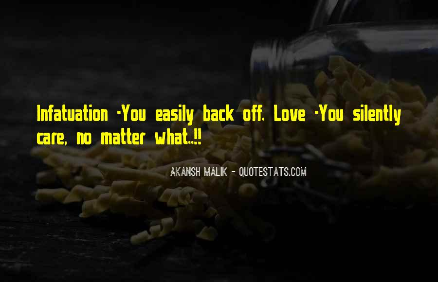 No Matter How Much You Care Quotes #107466