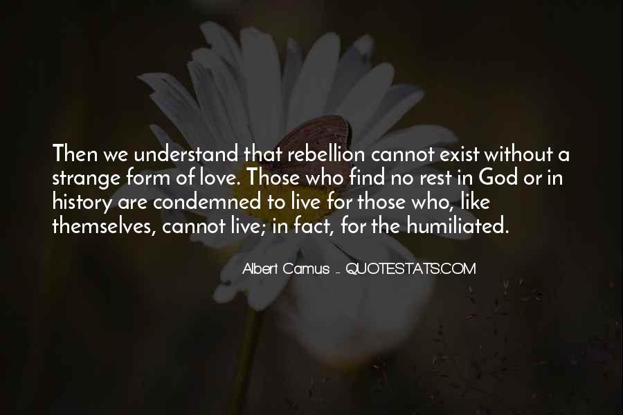 Quotes About Camus God #1773459