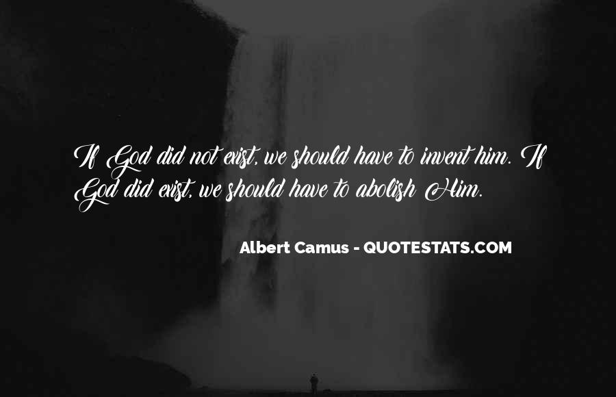 Quotes About Camus God #231791