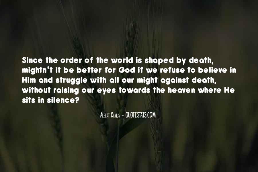 Quotes About Camus God #418411