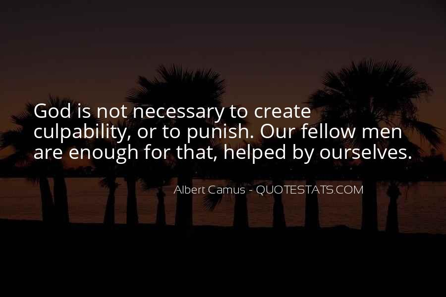 Quotes About Camus God #688781
