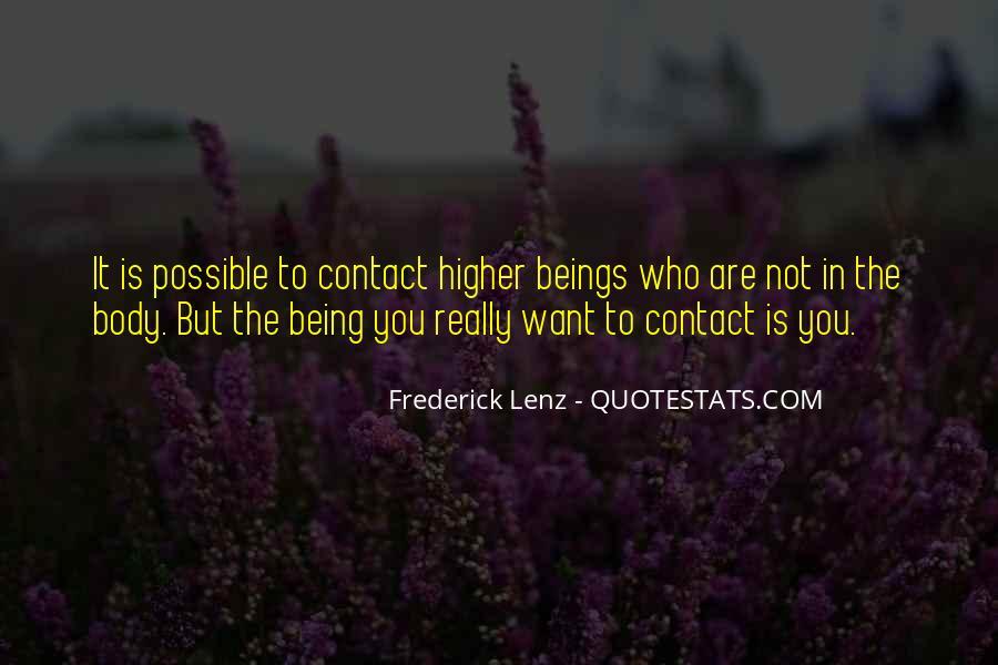 No More Contact Quotes #41049