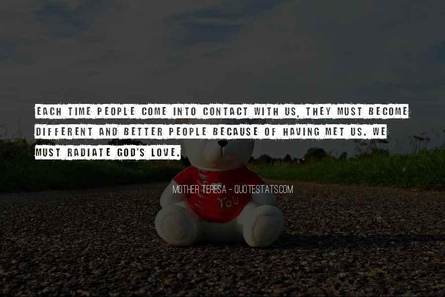 No More Contact Quotes #67722