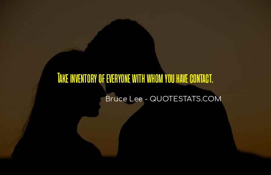 No More Contact Quotes #69861