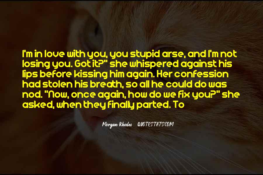 No More Love Again Quotes #13371