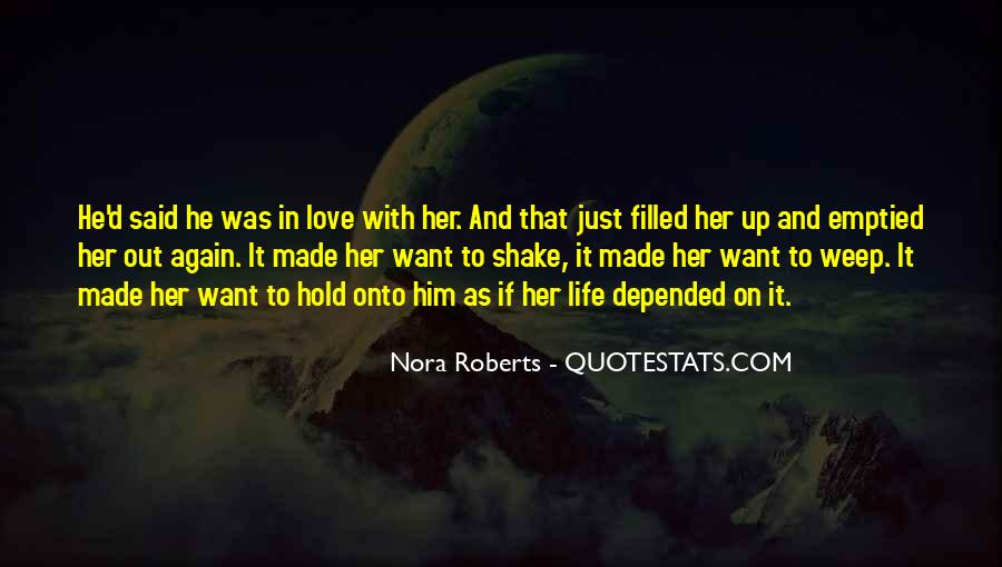 No More Love Again Quotes #2181