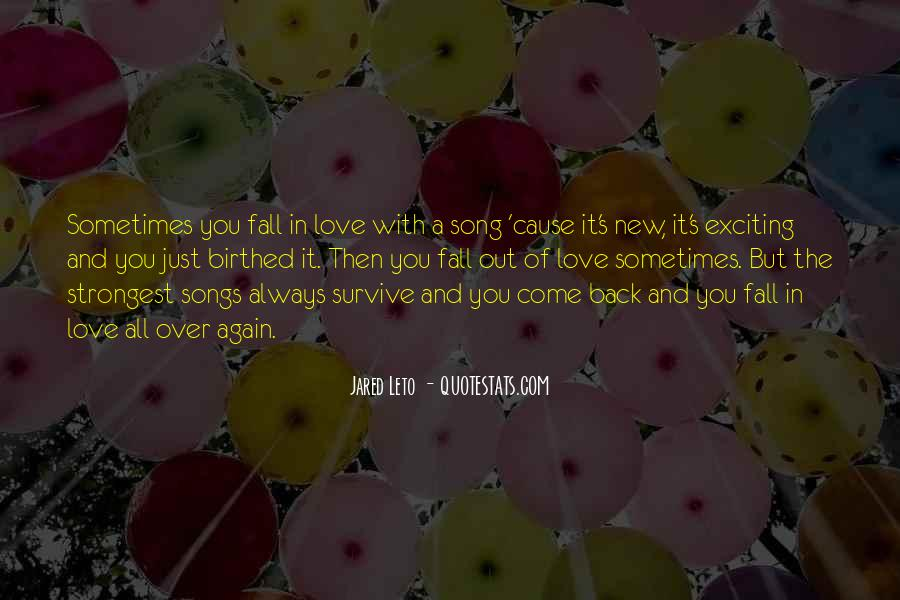 No More Love Again Quotes #41491