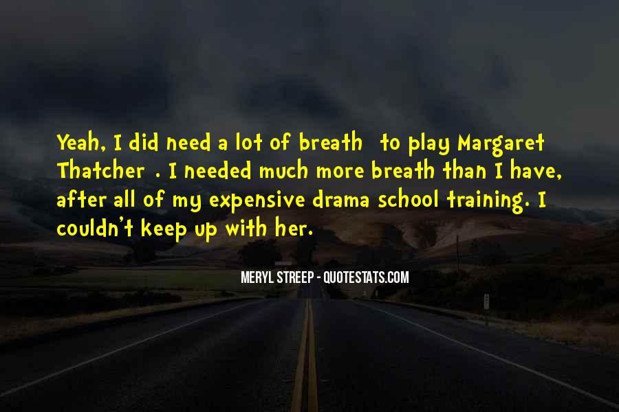 No Need Drama Quotes #439381