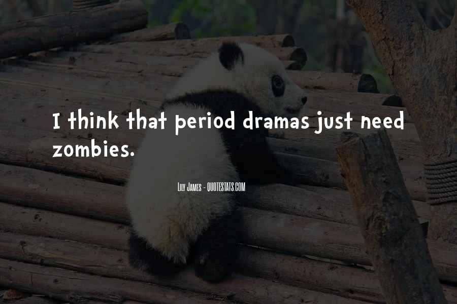 No Need Drama Quotes #741008