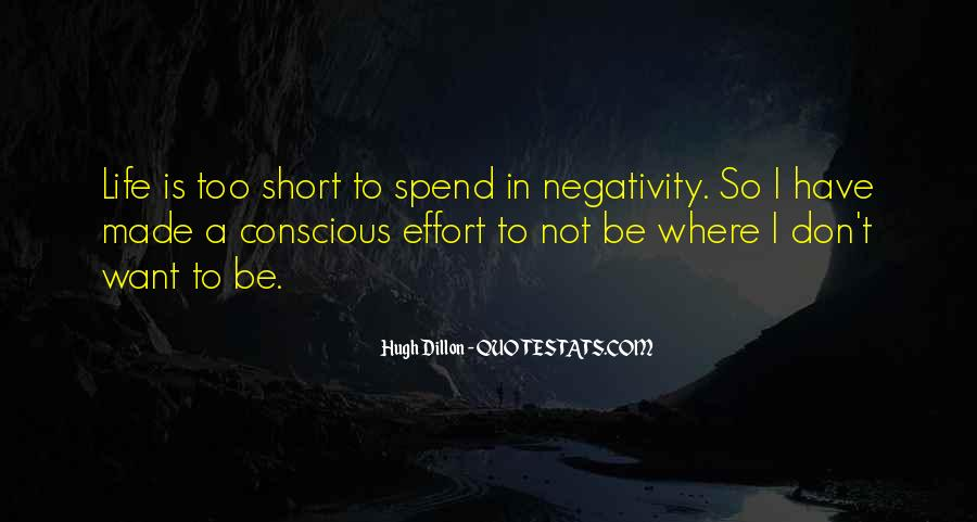 No Negativity In My Life Quotes #278128