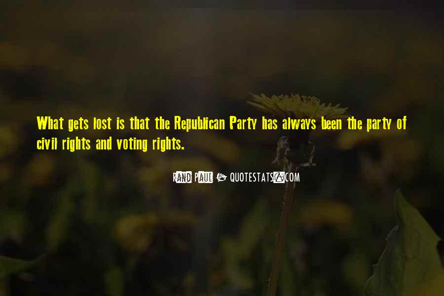 No Nothing Party Quotes #1631