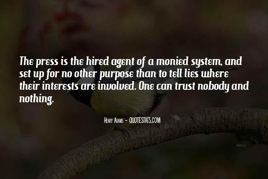 Top 38 No One Can Trust Quotes: Famous Quotes & Sayings ...