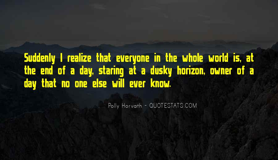 No One In The World Quotes #102186