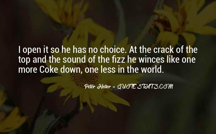 No One In The World Quotes #155803