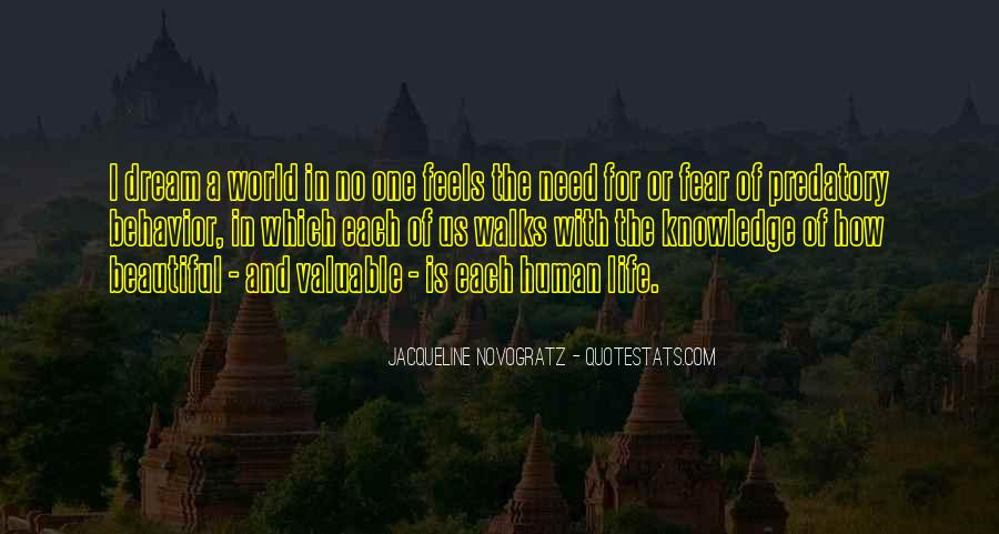 No One In The World Quotes #160546