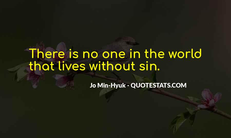 No One In The World Quotes #168102
