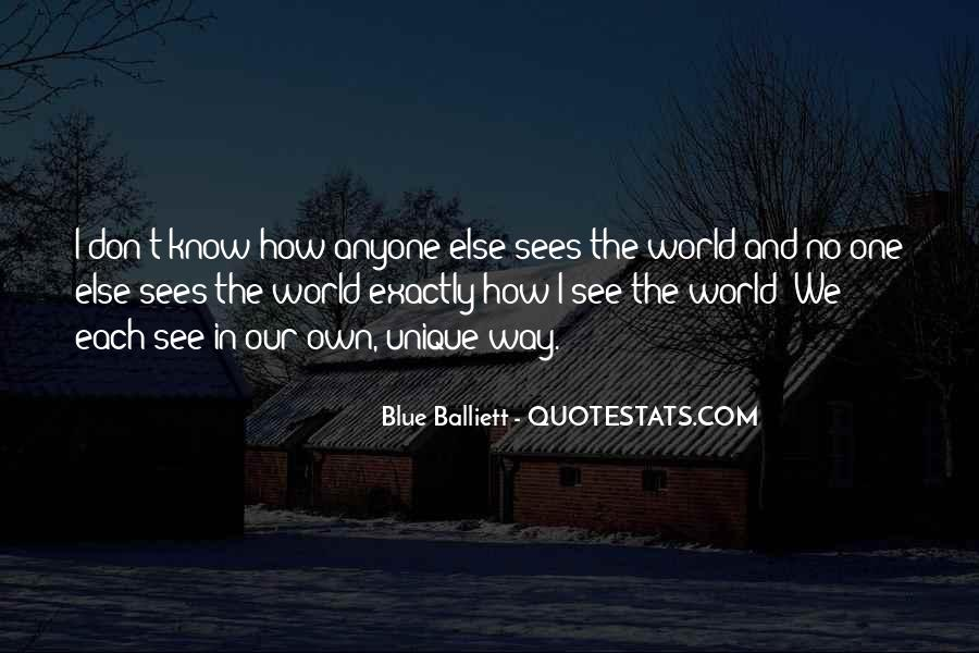 No One In The World Quotes #174109