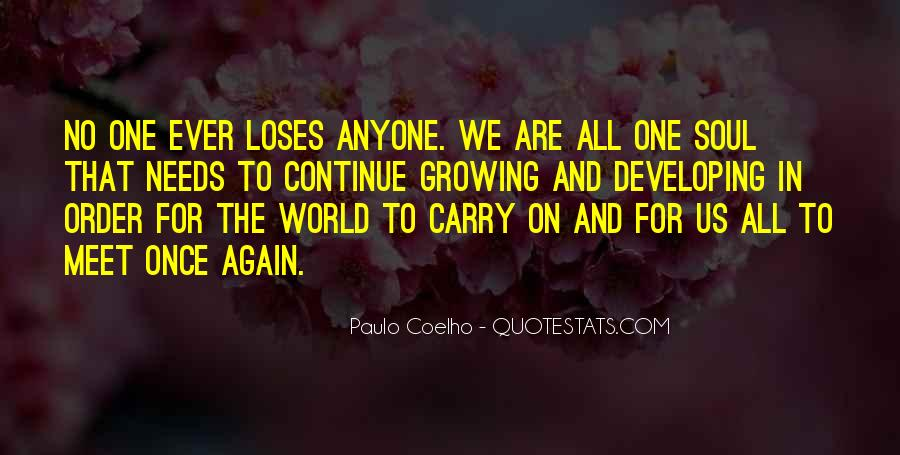 No One In The World Quotes #179688