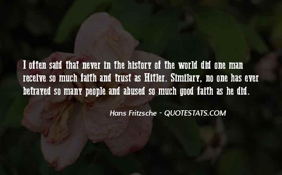 No One In The World Quotes #18131