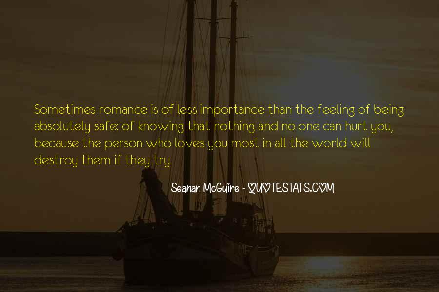 No One In The World Quotes #193504