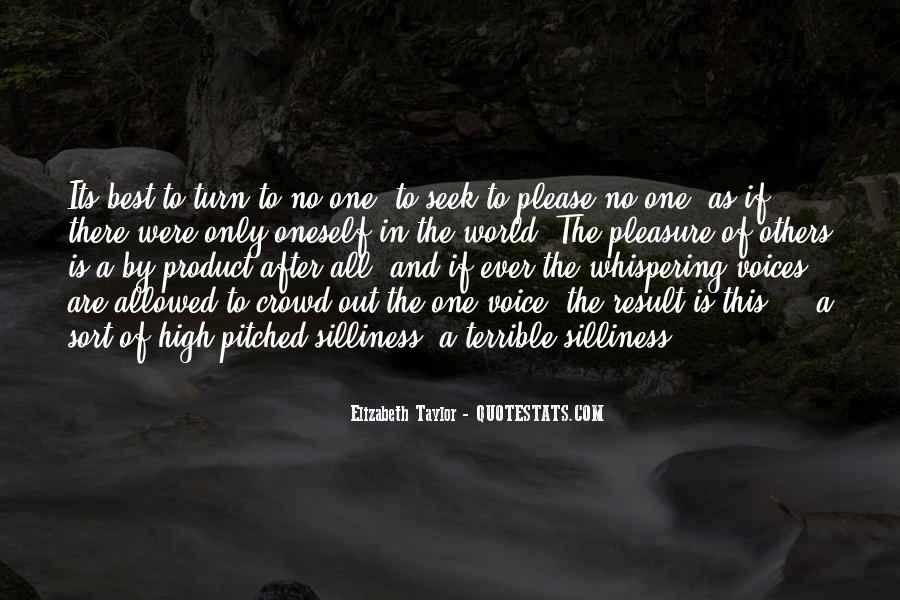 No One In The World Quotes #194159