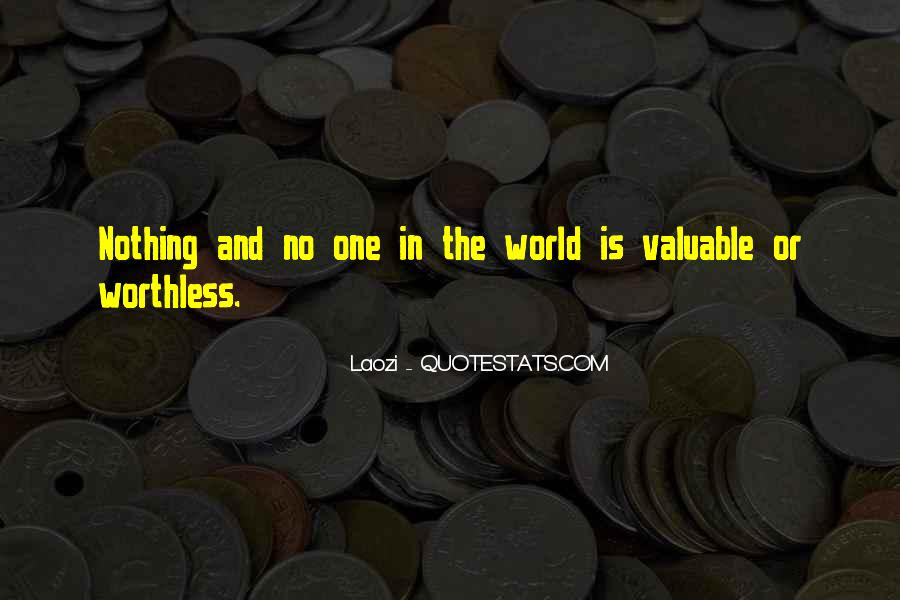 No One In The World Quotes #196938