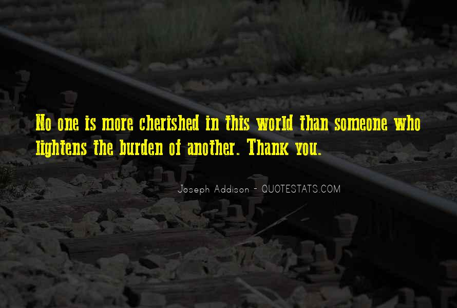 No One In The World Quotes #214012
